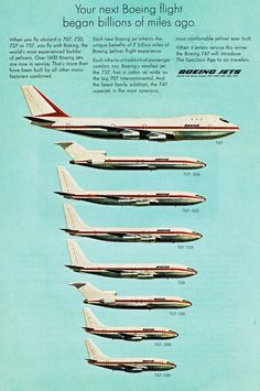 1969 - Boeing Jets introduces the 747