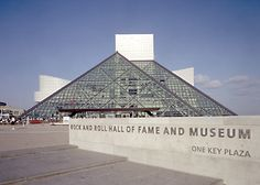 I love Rock and Roll so I was excited to stop at the Rock and Roll Hall of Fame in Clevland, Ohio.  Lots of cool memorabilia, plus I actually did learn some nifty facts : )