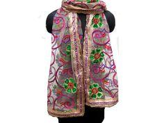 Golden scarf/ net scarf/ trendy scarf/ fashion scarf/