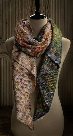 Ravelry: Prismatique Wrap pattern by Marléne Scheepers-Fourie (Plasie) Crochet Stitches, Knit Crochet, Crochet Patterns, Linen Stitch, Crochet Blocks, Wrap Pattern, Crochet Accessories, Crochet Clothes, Two By Two
