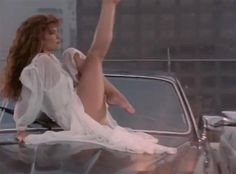 "Tawny Kitaen: If you were a product of the '80s and loved hair bands then you surely remember how hot Tawny looked in Whitesnake's ""Here I Go Again"" music video. And if you did forget, here's a shot of her sexing it up atop a Jag. It's no wonder that Whitesnake frontman David Coverdale was once married to the California native -- she was smokin'! Besides being a video vixen of the '80s, Tawny also starred in a handful of movies like ""Bachelor Party"" and more."