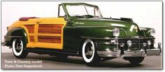 """1948 Chrysler Town and Country Convertible 'Woody"""""""