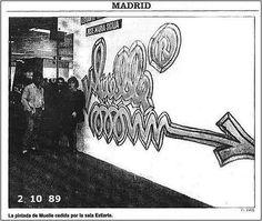 56. El País. ARCO 1989 Graffiti, Tableware, Diffuser, Goal, Arch, Boat Dock, Dinnerware, Dishes, Graffiti Illustrations