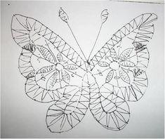 Tattoos, Pattern, Butterflies, Lace, Insects, Tatuajes, Tattoo, Patterns, Model