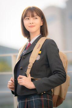 Korean Uniform School, School Uniform Girls, Girls Uniforms, Korean Actresses, Korean Actors, Actors & Actresses, Korean Shows, Korean Drama Movies, Emo Girls