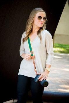 """The Bagby Fotostrap, in honor of Baylor University. It even has the option to engrave your name or """"BU"""" on the strap!"""