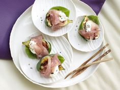 Prosciutto Figs with Mascarpone Foam | Eat Smarter