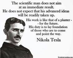"Nikola Tesla quote: ""The day science . Nikola Tesla Quotes, Nicola Tesla, Success Quotes, Life Quotes, Wisdom Quotes, Brainy Quotes, Motivation Success, Lyric Quotes, Movie Quotes"
