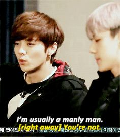 But only Sehun knows that he is.. #Luhan #Sehun