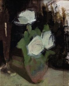 View White Roses [Vita rosor] By Helene Schjerfbeck; Access more artwork lots and estimated & realized auction prices on MutualArt. Helene Schjerfbeck, Richard Diebenkorn, Female Painters, Painting Courses, Robert Motherwell, Still Life Fruit, Cy Twombly, Pierre Auguste Renoir, Edouard Manet