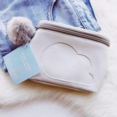Ariana Grande Cloud Fragrance Bag NWT on Mercari Travel Backpack, Fashion Backpack, Ari Perfume, Ariana Merch, Ariana Grande Fragrance, Ariana Grande Outfits, Travel Stuff, Fragrances, Michael Kors Jet Set