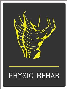 By Marinos1003 Logo for a physiotherapy house