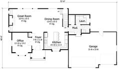 House Plan 42565 at FamilyHomePlans.com