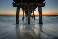 Standing under the pier in Naples, Florida, just after a beautiful sunset. Naples Pier, Naples Florida, Amazing Photos, Cool Photos, My Happy Place, Beautiful Sunset, Diy Jewelry, Vacation, Lifestyle