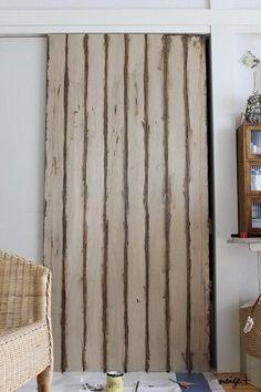 ふすまの大きな扉もべニア板でリメイクDIY♪賃貸でもタッカーを使えば理想に近づけます|LIMIA (リミア)
