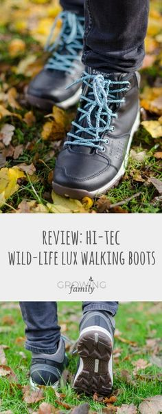 Reviewing the Wild-Life Lux women's walking boots from Hi-Tec, putting them through their paces on family outdoor adventures.