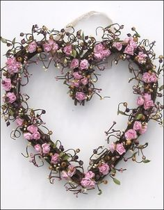 Roses & Curly Willow Twigs~❥