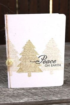 Peace On Earth Card by Heather Nichols for Papertrey Ink (October 2012)