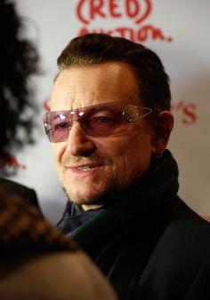Bono from U2 - Jony & Marc's (RED) Auction  Sotheby's New York City November 23, 2013
