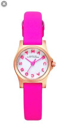 Fluro Pink Marc Jacobs Watch