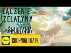 ❔Jak łączyć żelatynę ze śmietaną? Paweł Małecki pokaże Ci jak! - triki Kuchni Lidla - YouTube