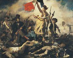 Eugène Delacroix - la liberté guidant le peuple - 1830.