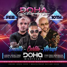 Saturdays on Doha Nightclub February 10th 2018 Music by Smalls Carlito Abrupt Doha Nightclub Address 38-34 31st Street Long Island City u2022 Doors of Doha ...  sc 1 st  Pinterest & Ladies Night Fridays at Doha Nightclub March 23/2018 Dj Star ...