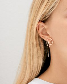 Charlotte Chesnais is killing it with yet another wonderfully twisted collection of earrings and cuffs. I love the way the Balenciaga alum challenges the norm by mixing metals and creating unique, yet simple, languid shapes around the ears and wrists.