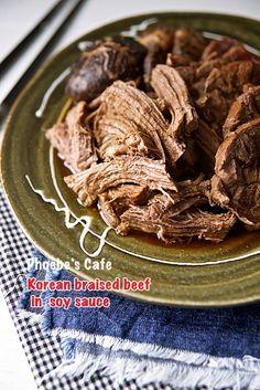 소고기 장조림 레시피, 한국 요리, 반찬 만들기,