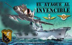 Malvinas Guerra Aérea: El ataque al portaaviones HMS Invincible