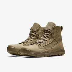 "Nike SFB Field 6"" Men's Boot. Nike Store Mens Boots Fashion, Sneakers Fashion, Fashion Shoes, Nike Sfb, Tactical Wear, Nike Boots, Gents Fashion, Nike Store, Blue Sneakers"