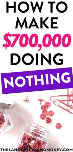 This is awesome – I can't believe how much money I can make from doing absolutely nothing! There's no wonder they say that this is how to become a millionaire! I'm definitely going to focus on saving money and putting this into practice ASAP so that I can reach financial freedom and even retire early!