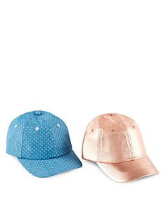 2 Pack Assorted Hats (5-14 Years) Clothing