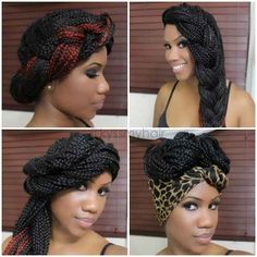 Box Braids | 22 No-Heat Styles That Will Save Your Hair