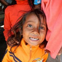 Wide-eyed kid in northern Cambodia. Trueworldtravels.com