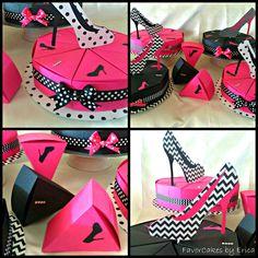 Sassy Shoe FavorCakes 2013.