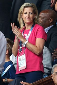 Sophie Countess of Wessex watches Scotland Play New Zealand in the. Rugby 7s News Photo 452722418