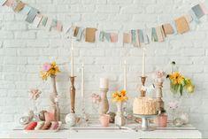 Hoy en el blog como decorar tu boda con banderines.