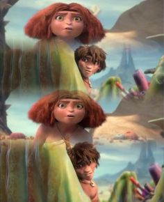 the croods, eep, and eep and guy image