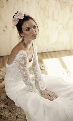 Boho lace wedding dress boho bride beach bride  Grace loves lace shop Antonia dress www.graceloveslace.com
