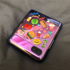 Kawaii Phone Case, Diy Phone Case, Cute Phone Cases, Iphone Cases, Korean Painting, Samsung Galaxy Phones, Aesthetic Phone Case, Flip Phones, Cute Games