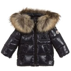 3d573ccc0 Le Chic Baby Girls Pink Puffer Coat at Childrensalon.com  babycoats ...