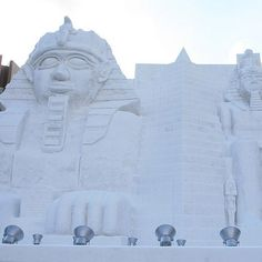 Photo: Tony Lin/Flickr | thisoldhouse.com | from World's Most Amazing Snow Sculptures
