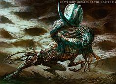 Venom Sliver - MtG Art