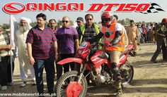 Plum Qingqi Motors participated in Motorbike rally with its QINGQI DT-150 off road dirt bike, the event was organized by TDCP around the majestic Rohtas fort in District Jehlum. In group D rider of Qingqi DT-150, Haider Ali, Reg# 403, finished 37 kilometer single lap race on off road terrain in 27 minutes and ranked [...]