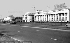 Perivale, Western Avenue, The Hoover Building from Francis Frith Vintage London, Old London, West London, London History, Local History, Acton London, Hoover Building, Shepherds Bush, London Location