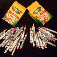 Wrap crayons or pens with dollar bills.