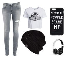 """Jurassic World"" by skybluekittens-mm ❤ liked on Polyvore featuring New Look, Beats by Dr. Dre, UGG Australia and Dondup"