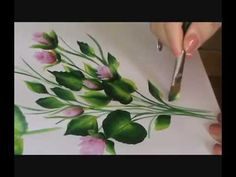 ▶ HOJAS - LEAVES ( PINTURA MULTICARGA - ( PINTURA DECORATIVA- DECORATIVE PAINTING) - YouTube