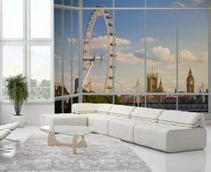 London Skyline Wallpaper Mural